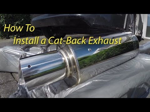 How To: Install a CatBack Exhaust System
