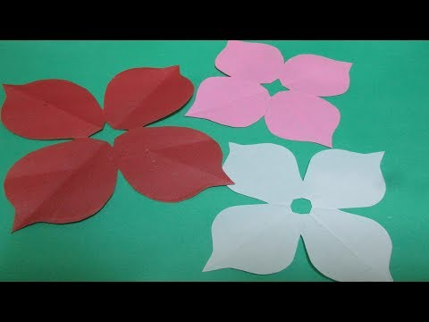 How to make simple & easy paper cutting flower designs #2  DIY Tutorial by Paper Folds step by step,