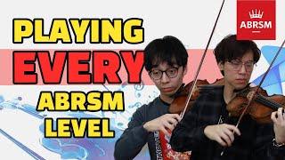 Professional Violinists Play Through ABRSM Grades