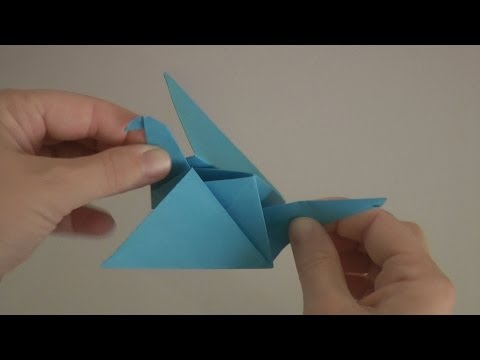 ACTION ORIGAMI - FLAPPING BIRD