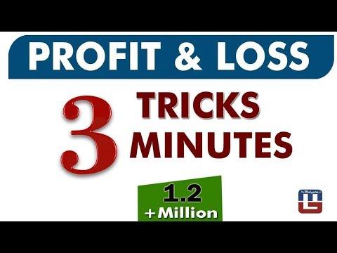 PROFIT & LOSS | 3 TRICKS | 3 MINUTES | MATHS | 2018