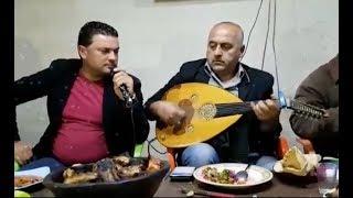 الفنان جعفر حسن مع عازف العود منير سليمان سهرة خاصة طرطوس 2018