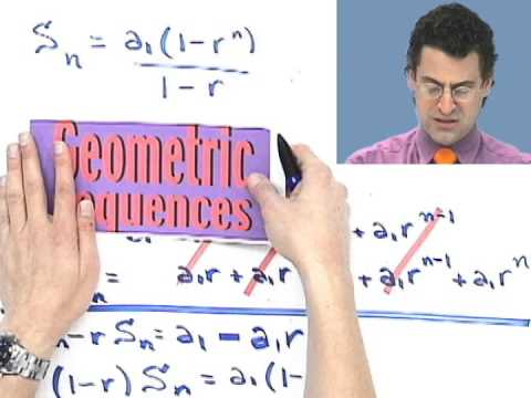 Finding the Sum of a Geometric Sequence