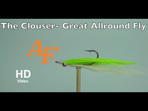 Clouser Fly Tying Fly Fishing - Andy Thomsen How to tie a fly EP.41