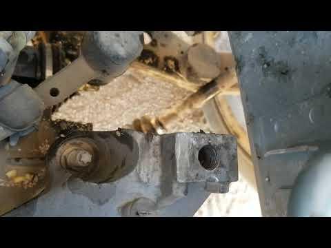 Mazda 3/5 engine fell out!! (Transmission mount bolt backed out!)