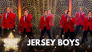 Jersey Boys perform a medley of songs - Let It Shine - BBC One