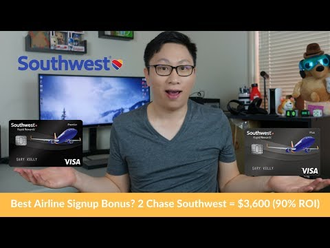 Best Chase Southwest Offers? 2 Cards = $3,600 EV + Comp. Pass