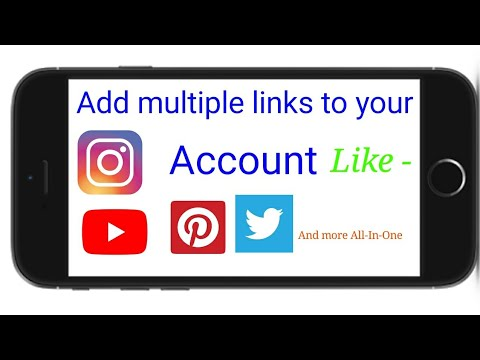 How to add multiple links in Insta Bio!!!