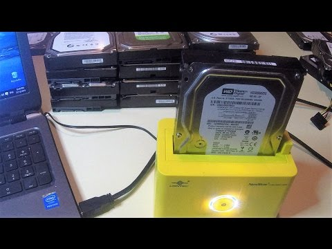 Formatting Scrap Hard Drives to Sell on eBay or Data Backup