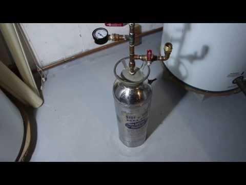 solar hot water antifreeze tip and pressure trick