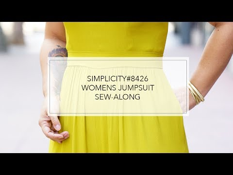 Tutorial for Mimi G Jumpsuit with Simplicity Pattern 8426