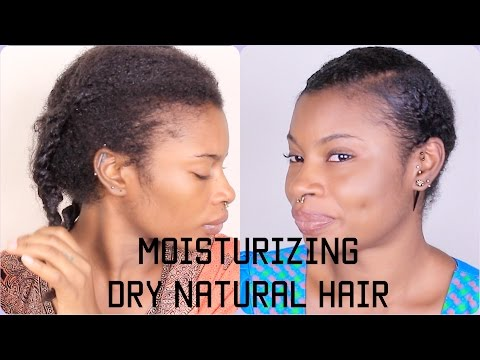 Moisturizing Technique On Dry Natural Hair