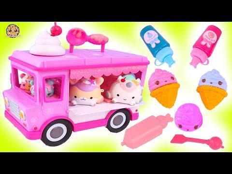 Lip Gloss Makeup Maker ! Num Noms Series 5 DIY Truck