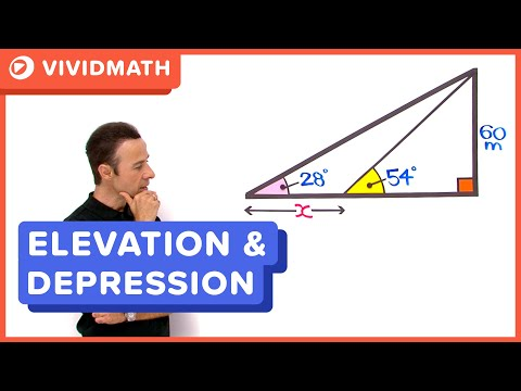 Maths: Angles of Elevation