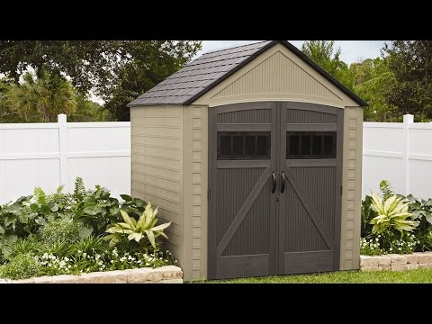 How to make work fun - Rubbermaid shed