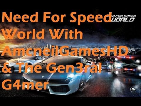 Need For Speed World With Gen3ralG4mesHD