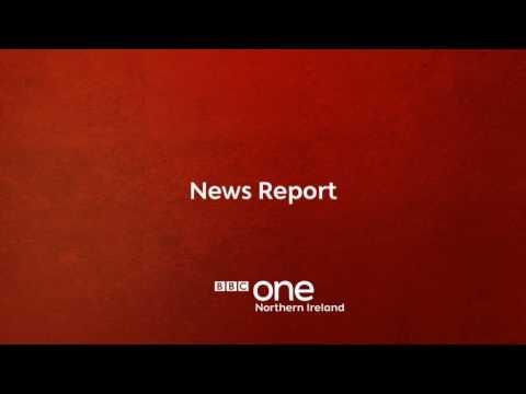 BBC One Northern Ireland: News Handover/Interruption - 12.50am 23rd May 2017