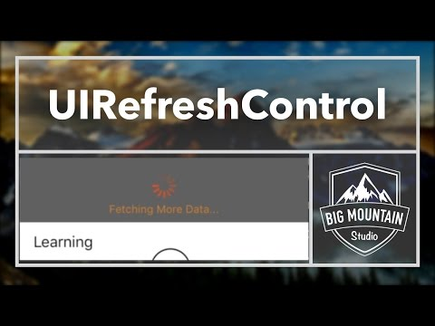 UIRefreshControl - Refreshing the TableView (iOS, Xcode 8, Swift 3)