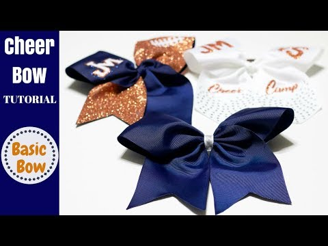 How to make a Basic Cheer Bow