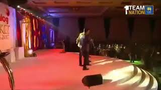 "Sri Lankan Cricketers Singing Bollywood Song ""Pehla Nasha"""
