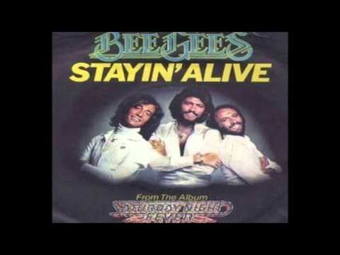 Bee Gees - Stayin' Alive (Vocals Half-Step Out of Key)