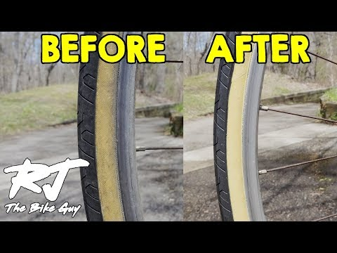 Cleaning Gumwall & Whitewall Bike Tires
