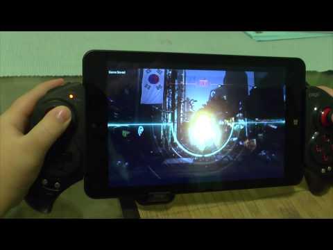 1# Call of Duty: Advanced Warfare on tablet pc Lenovo ThinkPad 8 Intel Atom Z3795 4GB RAM iPEGA 9023