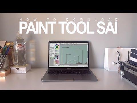 How to DOWNLOAD Paint Tool SAI - Full, Free and Easy [2017] | Tutorial