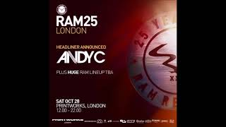 Ant Miles  25 Years Of Ram Records Printworks London  28102017
