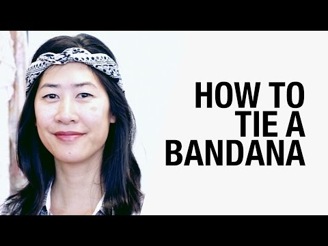 7 Ways How to Tie a Bandana | Chictopia