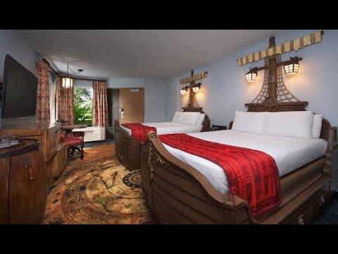 Disney's Caribbean Beach Resort Room Tour | June 2017