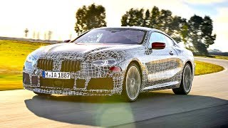 New BMW 8 Series Coupe Severe High Speed Testing Italy  CARJAM TV
