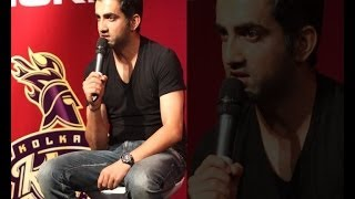 Gambhir speaks on rift with Dhoni