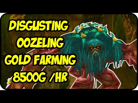 WoW Gold Farming Patch 6.2.4: Disgusting Oozeling Gold Making - Oozeling Bag Farming - WoD Gold