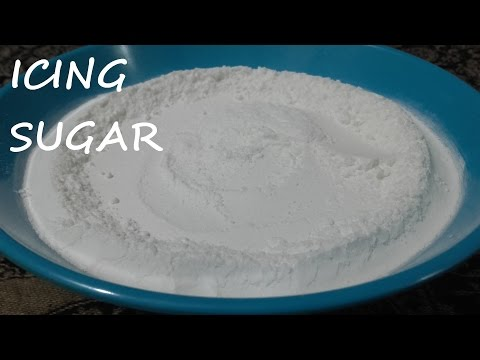 How To Make Icing Sugar At Home/Icing Sugar At Home With Two Ingredients/Confectionary Sugar at Home
