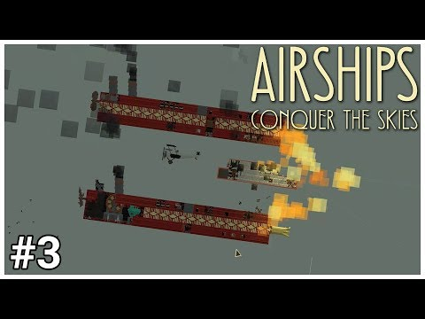 Airships: Conquer the Skies - #3 - Flaming Assault - Let's Play / Gameplay