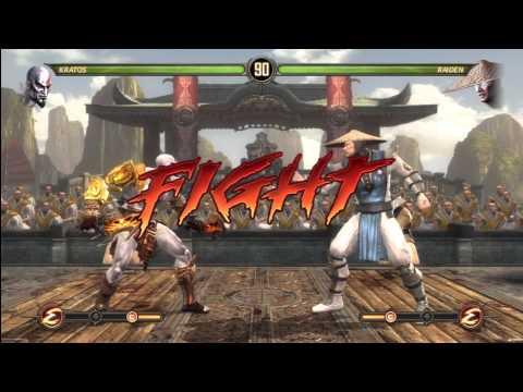 [HD] MK9 Kratos Ladder Gameplay Pt.1
