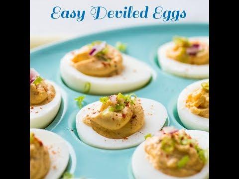 How to Make Easy & Tasty Deviled Eggs