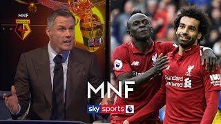 Gary Neville makes Jamie Carragher choose between Salah and Mane!   MNF