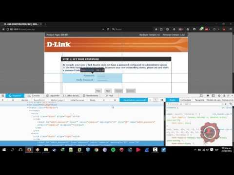 Hack Admin user D-LINK routers DIR-857
