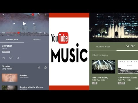 Youtube Music App launched for iOS and Android in U.S | QPT