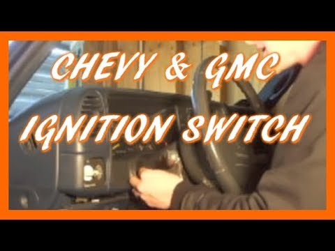 How to Replace Ignition Switch in 95-98 Silverado Sierra & SUV