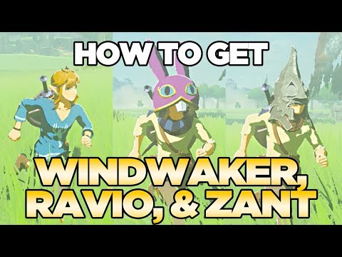 How to Get Windwaker Lobster Shirt, Ravio, & Zant in Breath of the Wild | Austin John Plays