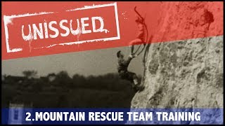 Unissued Nº2 - Mountain Rescue Team training (1950)