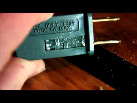 When Fuses Fail (Christmas Lights Update 12/31/2014)