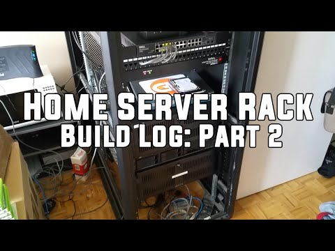 Home Server Rack - Build Log: Part 2