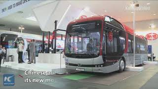 Chinese high-tech innovations showcased at industry fairs in Germany