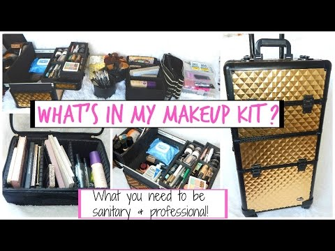 Freelance Makeup Artist Kit | Makeup Artist Must Haves