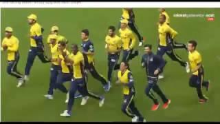 Peshawar zalmi vs karachi kings last ball of knockout and celebrations (PSL 2)