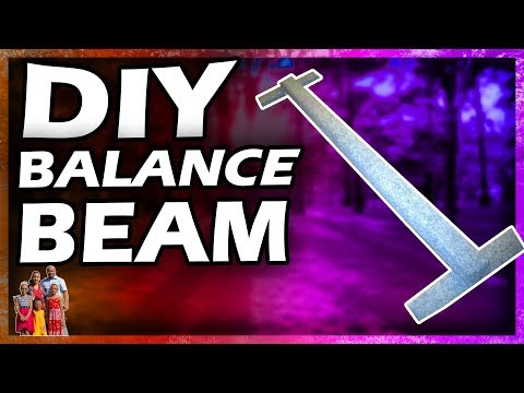 DIY Gymnastics Balance Beam